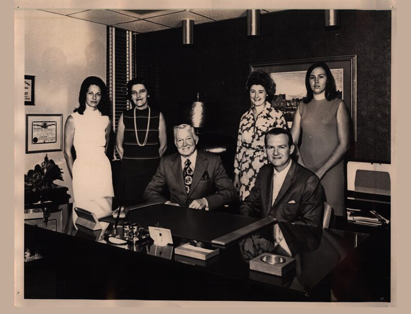 circa 1970 HDSL Law Firm group picture